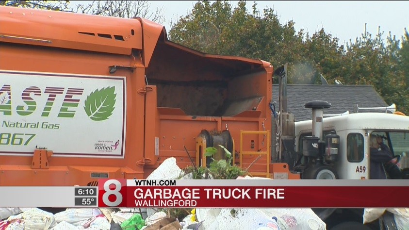 Preventing Garbage Truck Fires -11/2/17 - All Waste